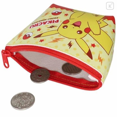Japan Pokemon Triangular Mini Pouch - Pikachu - 3
