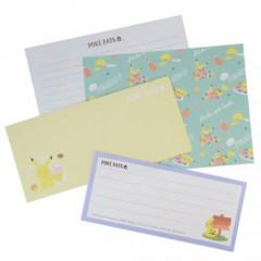 Japan Pokemon Letter Envelope Set - Pikachu / Poke Day