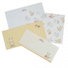 Japan Pokemon Letter Envelope Set - Pikachu / Electric Type