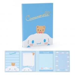 Japan Sanrio Memo Pad with Book Cover - Cinnamoroll