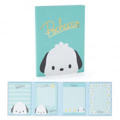 Japan Sanrio Memo Pad with Book Cover - Pochacco