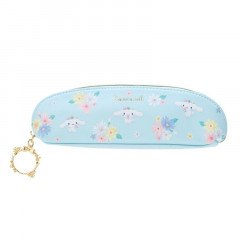 Japan Sanrio Slim Pen Case - Cinnamoroll / Lovely Floral