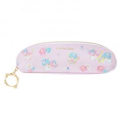 Japan Sanrio Slim Pen Case - Little Twin Stars / Lovely Floral