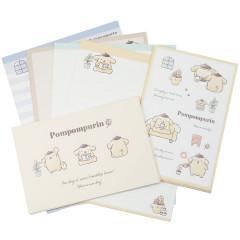 Japan Sanrio Letter Envelope Set - Pompompurin