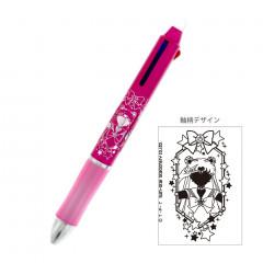 Japan Sailor Moon FriXion Erasable 3 Color Multi Gel Pen - Metal