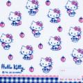 Japan Sanrio Handkerchief Petit Towel - Hello Kitty / Strawberry - 2