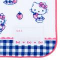Japan Sanrio Handkerchief Petit Towel - Hello Kitty / Strawberry - 3