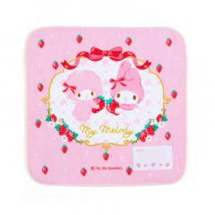 Japan Sanrio Handkerchief Petit Towel - My Melody / Strawberry