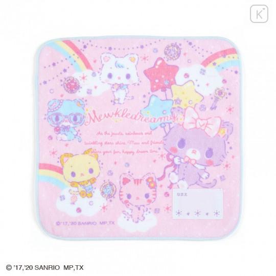 Japan Sanrio Handkerchief Petit Towel - Mewkledreamy - 1