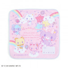 Japan Sanrio Petit Towel - Mewkledreamy / Niji