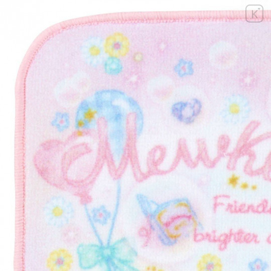 Japan Sanrio Handkerchief Petit Towel - Mewkledreamy / Party - 3