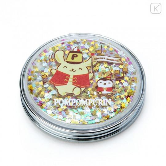 Japan Sanrio 2-sided Pocket Mirror - Pompompurin / 25th Anniversary - 1