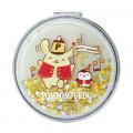 Japan Sanrio 2-sided Pocket Mirror - Pompompurin / 25th Anniversary - 2