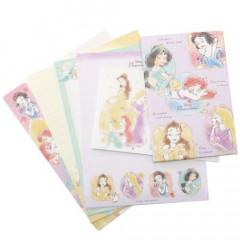 Japan Disney Letter Envelope Set - Disney Princess