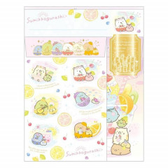 Japan San-X Letter Envelope Set - Sumikko Gurashi / Fruit Vacation B