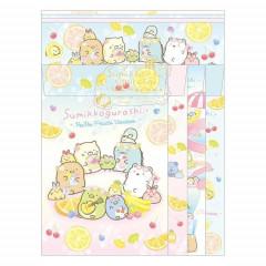 Japan San-X Letter Envelope Set - Sumikko Gurashi / Fruit Vacation A