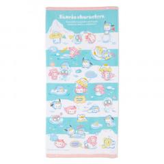Japan Sanrio Bath Towel - Ice Friends