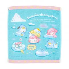 Japan Sanrio Handkerchief Petit Towel - Ice Friends