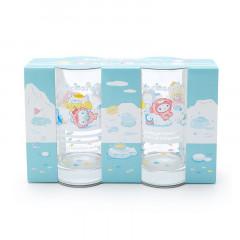 Japan Sanrio Glass Set - Ice Friends