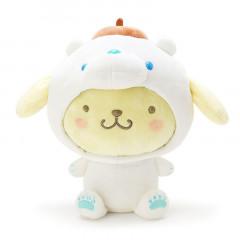 Japan Sanrio Ice World Plush - Pompompurin / Polar Bear