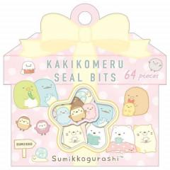 Japan San-X Writable Seal Bits Sticker - Sumikko Gurashi / Dot