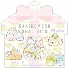 Japan San-X Writable Seal Bits Sticker - Sumikko Gurashi / Mysterious Rabbit Oniwa