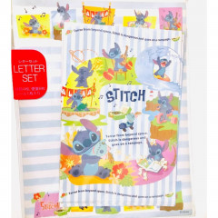 Japan Disney Letter Envelope Set - Stitch