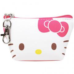 Japan Sanrio Triangular Mini Pouch - Hello Kitty