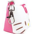 Japan Sanrio Triangular Mini Pouch - Hello Kitty - 2