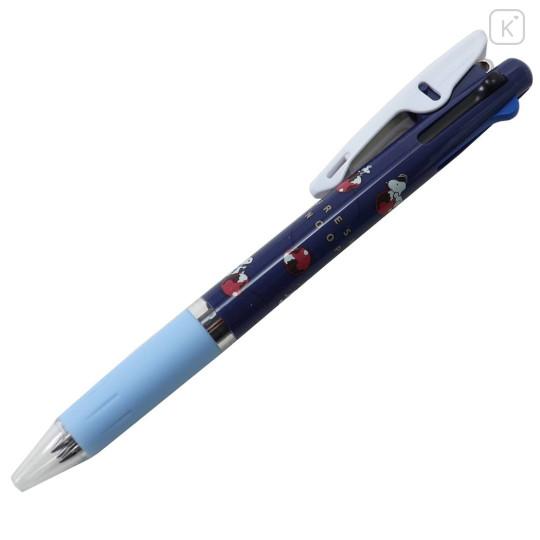 Japan Peanuts Jetstream 3 Color Multi Ball Pen - Snoopy / Cherry - 3