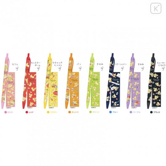 Japan Pokemon Color Gel Pen Set - Pikachu - 2
