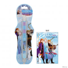 Japan Disney Dr. Grip Play Border Shaker Mechanical Pencil - Frozen II