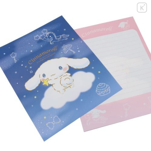 Japan Sanrio Letter Envelope Set - Cinnamoroll & Night Sky - 2