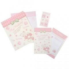 Japan Sanrio Letter Envelope Set - Melody & Stylish Logo