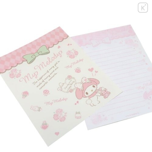 Japan Sanrio Letter Envelope Set - Melody & Stylish Logo - 2