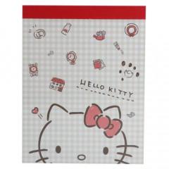 Japan Sanrio B8 Mini Notepad - Hello Kitty / Living