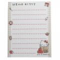 Japan Sanrio B8 Mini Notepad - Hello Kitty / Living - 3