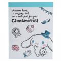 Japan Sanrio B8 Mini Notepad - Cinnamoroll / Warm - 1