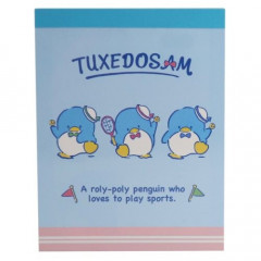 Japan Sanrio B8 Mini Notepad - Tuxedosam / Tennis