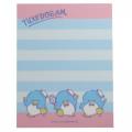 Japan Sanrio B8 Mini Notepad - Tuxedosam / Tennis - 3