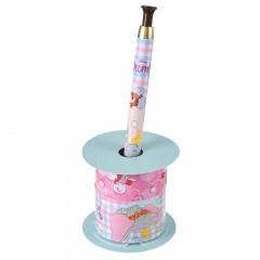 Japan Disney Ballpoint Pen Decoration Tape Stand - Dumbo & Timothy