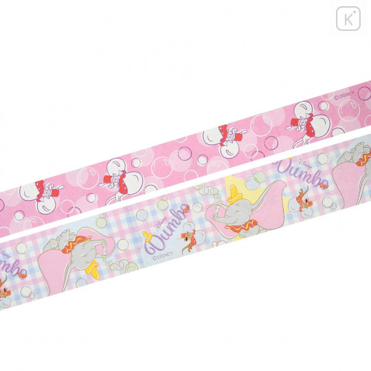 Japan Disney Ballpoint Pen Decoration Tape Stand - Dumbo & Timothy - 5