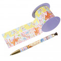 Japan Disney Ballpoint Pen Decoration Tape Stand - Bambi - 2