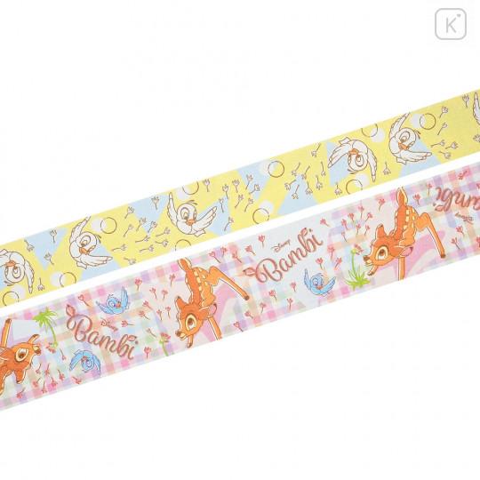 Japan Disney Ballpoint Pen Decoration Tape Stand - Bambi - 5