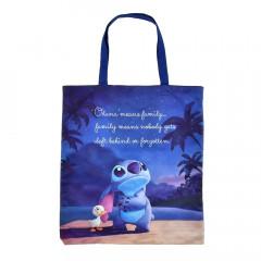 Japan Disney Shopping Bag - Stitch's Ohana