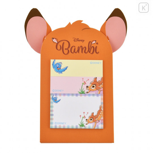 Japan Disney Sticky Notes with Stand - Bambi - 2