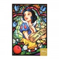 Japan Disney Postcard - Snow White / Stained Glass - 1