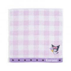 Japan Sanrio Cool Handkerchief Petit Towel - Kuromi