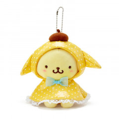 Japan Sanrio Keychain Plush - Pompompurin / Happy Rainy Days
