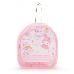Japan Sanrio Keychain Cover Pouch - My Melody / Happy Rainy Days
